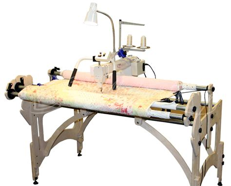 quilter 18 arm machine w stitch regulator frame