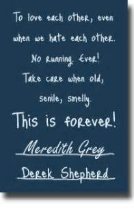 Wedding Quotes Greys Anatomy Pin By Jennifer Garett On Television Quotes Pinterest
