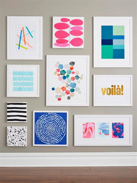 how to make wall decoration at home 9 easy diy wall art ideas hgtv