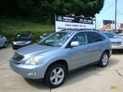 lexus rx blue 2007 breakwater blue metallic lexus rx 350 awd 31391952
