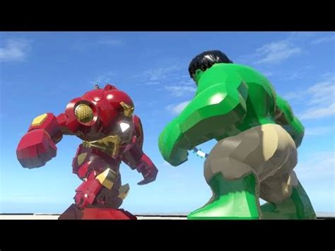 marvel ironman and hulk in film hulk vs iron man hulkbuster lego marvel super heroes