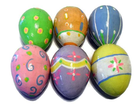 easter eggs handmade painted decor eggs