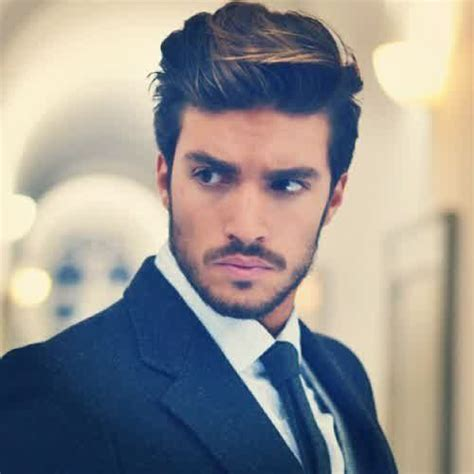 heavy male haircuts mens medium length hairstyles for thick straight hair