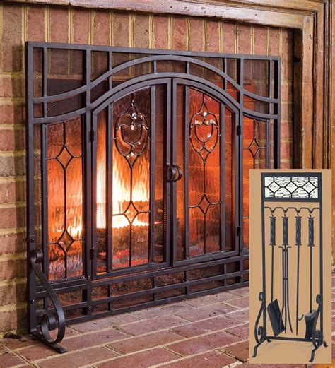 plow and hearth fireplace screens floral fireplace screen fireplace screens plow hearth