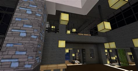 modern minecraft mansion living room by thefawksyartist on modern minecraft mansion lower level of kitchen by