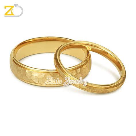 Cincin Kawin Nikah Tunangan Pasangan Perak Lapis Rosegold model cincin kawin damian zlata silver