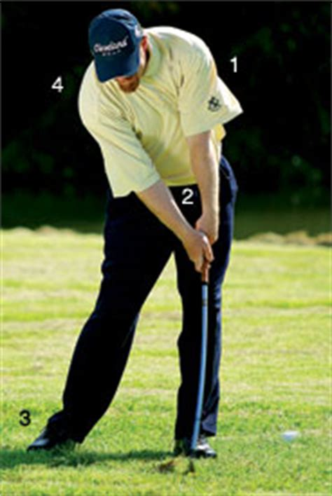 flat wrist golf swing left wrist at impact golf swing pictures to pin on