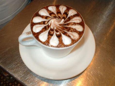pattern latte art coffee art incredible works of art on coffee lattes