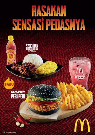Mcd Spicy Peri Peri tiga menu baru mcdonald s di mcspicy caign mix marcomm