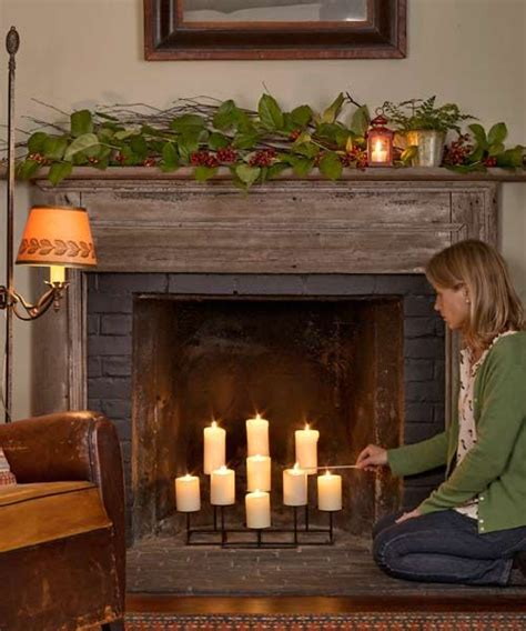 candle fireplace insert 25 best ideas about unused fireplace on pinterest