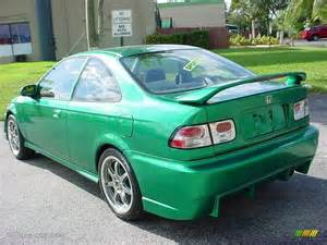 1996 custom sparkle green honda civic ex coupe 6563083