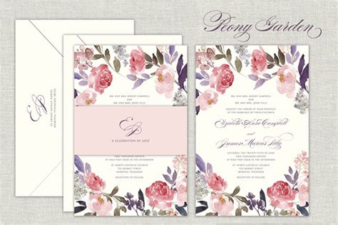 wedding invitation jewels pretty floral wedding invitation sets that make you w and