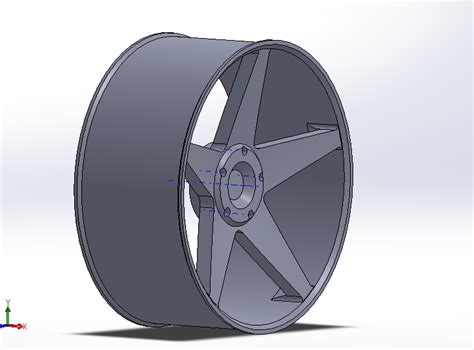Solidworks Tutorial Alloy Wheel | creating alloy wheel solidworks tutorials