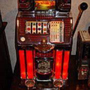 vintage slot machine  cents digital art  marvin blaine