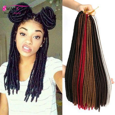 dreaded hair extensions faux locs dreadlock extensions crochet braid hair twist