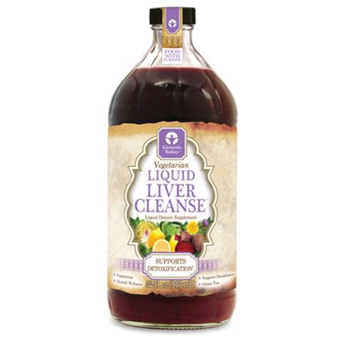 How To Do A Liquid Detox by Genesis Today Liquid Liver Cleanse 32 Oz