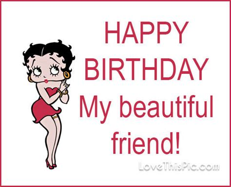 Betty Boop Birthday Quotes Happy Birthday Betty Boop Quote Pictures Photos And