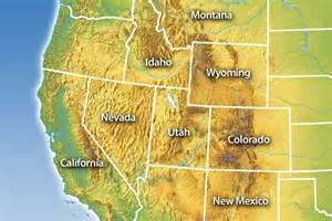 western united states map quiz image gallery western us