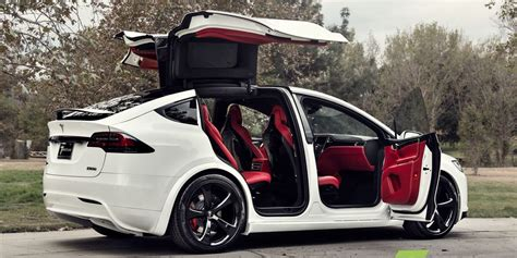 interieur goes a custom tesla model x with a bentley s interior goes on