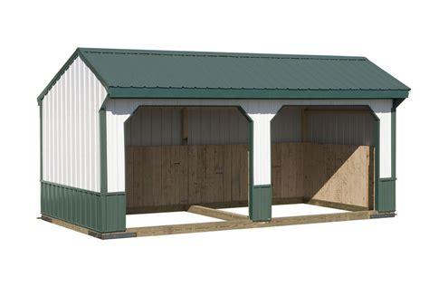 run  sheds amish crafted run  sheds custom run