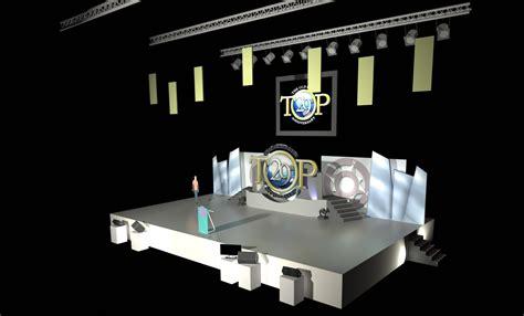 Top Th  Ee  Anniversary Ee   Stage Design By Randy Rey Atro Ot M