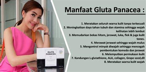 Suplemen Gluta Panacea review gluta panacea asli awas efek sing panacea palsu