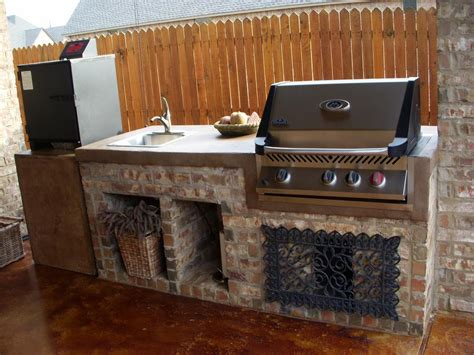 Kitchen Island With Dishwasher by Outdoor Grill Island Ideas Diy Small Outdoor Kitchen
