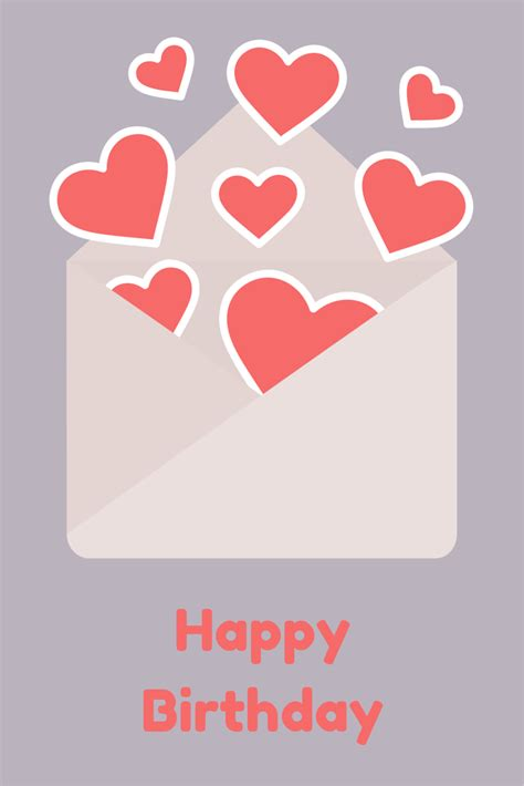 Happy Birthday Wishes Letter Happy Birthday Card Quotes