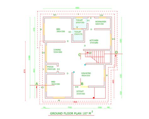 best 3 bedroom house designs best apartment floor plans in india