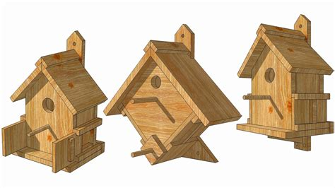Robin Birdhouse Plans Free Bird House Plans For Robins