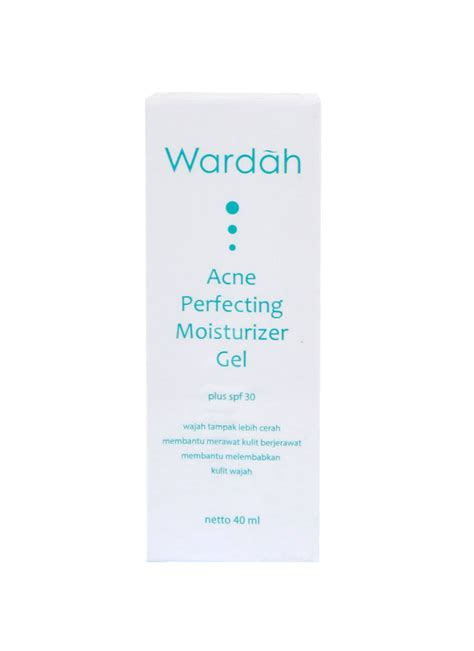 Wardah Acne Moisturizer Gel wardah acne perfecting moisturizer gel spf 30 tub 40ml