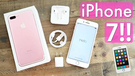 iphone   unboxing gb rose gold youtube