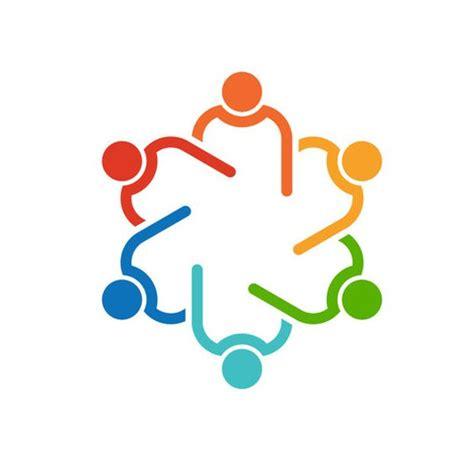 meeting clipart teamwork agenda meeting logo clip ncept for a