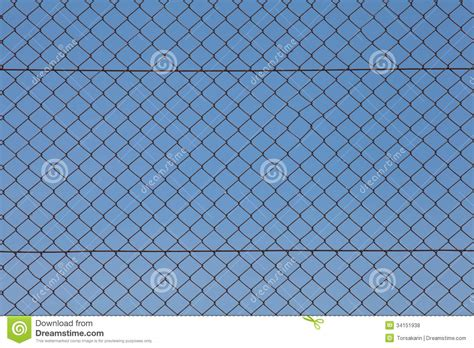 wire background chain fence iron wire fence royalty free stock photos image 34151938