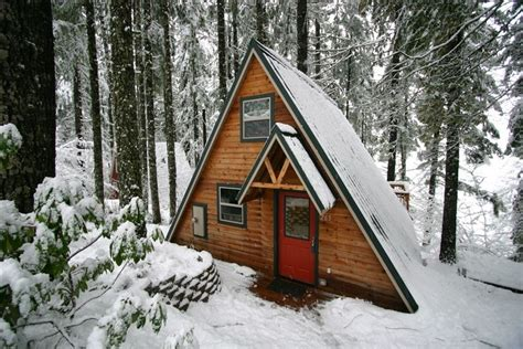 a frame cabins kits 10 cozy snowy cabins in oregon you re going to that