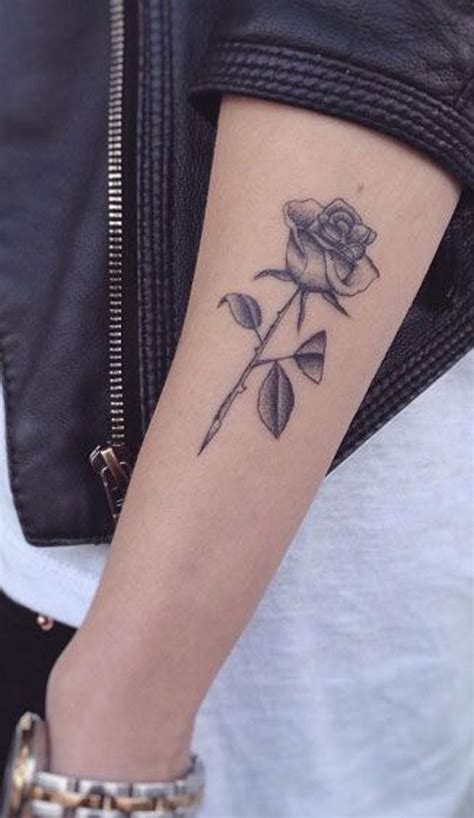 small rose tattoo ideas 50 beautiful ideas mybodiart
