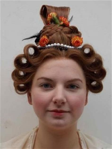hairstyles from 1830s photos of work from period hair courses 1830 s fashion