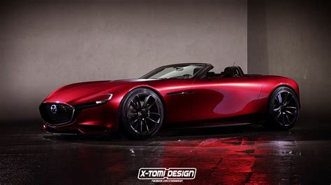 mazda rx with or without a top mazda s rx vision concept looks