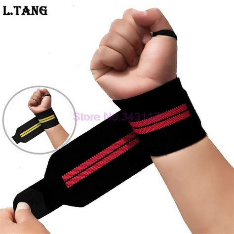 sports weightlifting wrist support fitness gloves weight lifting wrist bands straps
