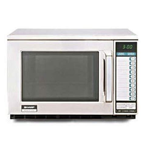 Oven Heavy Duty sharp r22gt commercial microwave oven heavy duty stainless steel 1200 watts