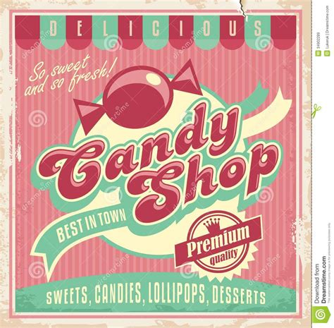 retro poster template vintage poster template for shop from