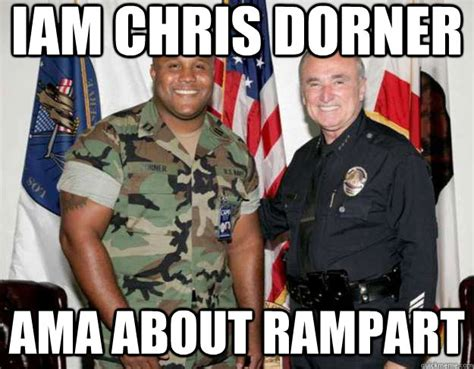 Dorner Meme - is suspect in cops murder cops burn down cabin without