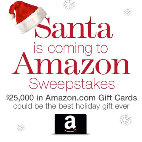 Https Truart Co Enter Amazon Sweepstakes - santa is coming to amazon sweepstakes enter online sweeps