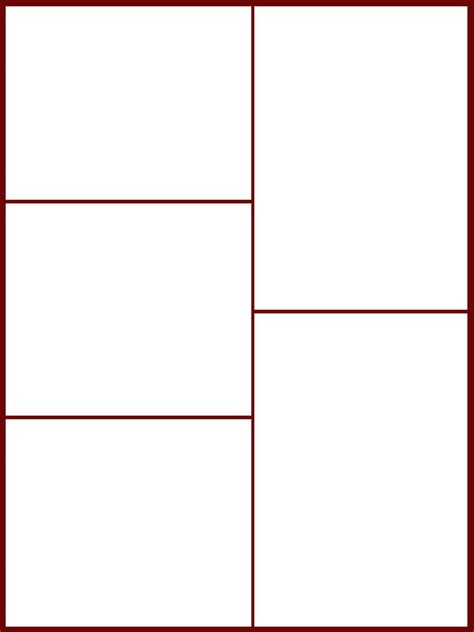 blank comic template blank comic book panels templates search results