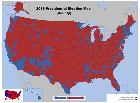 2016 presidential map 2016 presidential election map county by louisthefox on deviantart