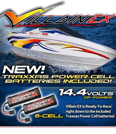 traxxas villain boat parts villain ex 14 4 volt off shore speedboat traxxas