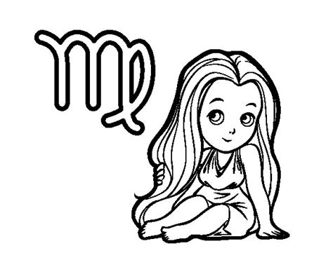 virgo color taurus coloring book coloring pages