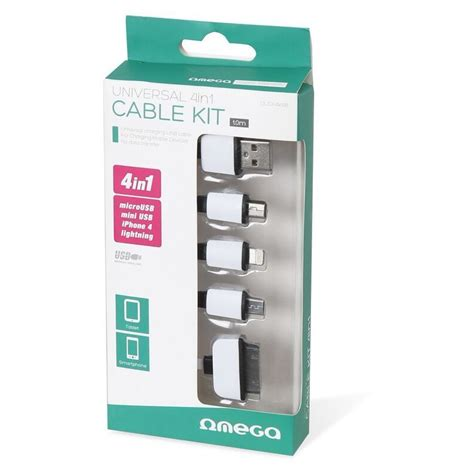 4in1 Cable omega cable universal 4in1 ouck4wb cables photopoint