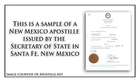 Birth Records New Mexico New Mexico Apostille Apostille Service By Apostille Net