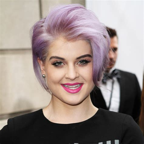 what product is used to color kelly osborne hair выбираем стрижки по форме лица 30 фото